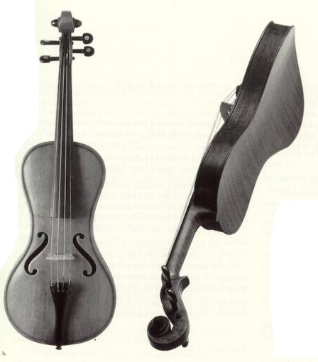 Guitar shaped Cradle of Harmony
