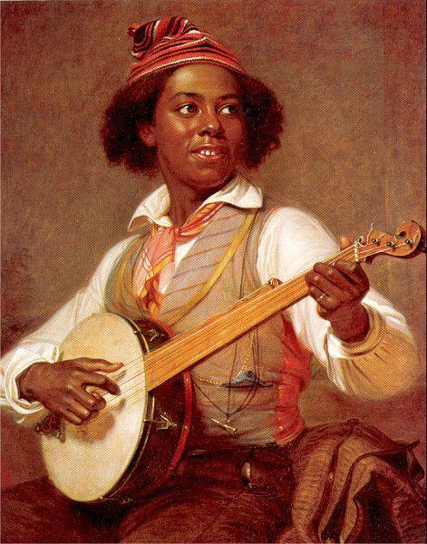 The banjo player william sidney mount
