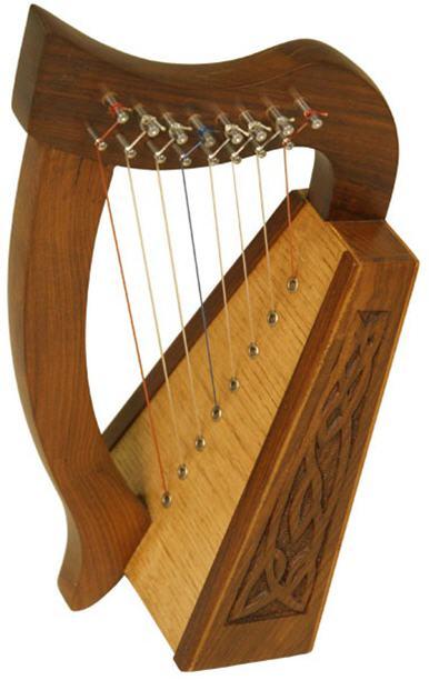 Celtic Harp Small 1