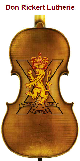 Copy of Rickert Custom Back Royal Scots Regiment Theme