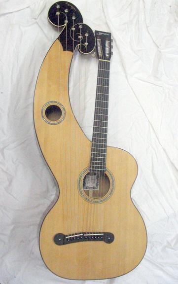 Harp guitar full
