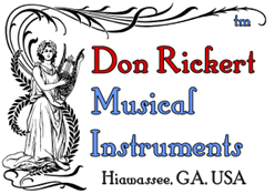 New Don Rickert Musical Instruments Logo medium