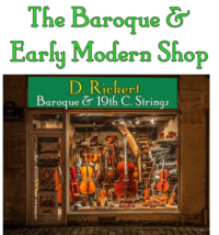 Baroque and Early Modern Shop