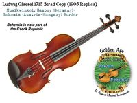 Glaesel 1715 Strad copy 1905 by Opera front