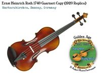 Roth 1740 Guarneri copy 1920 by Ning and Ivanov front