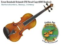 Schmidt 1715 Strad copy 1910 by Opera front