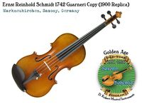 Schmidt 1742 Guarneri copy 1900 by Opera front