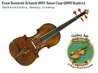 Schmidt 1665 Amati copy 1895 by Vecchio front