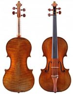 Stradivari-violin scaled
