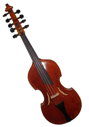 Violin d'Amore 14 inch 4x5 front