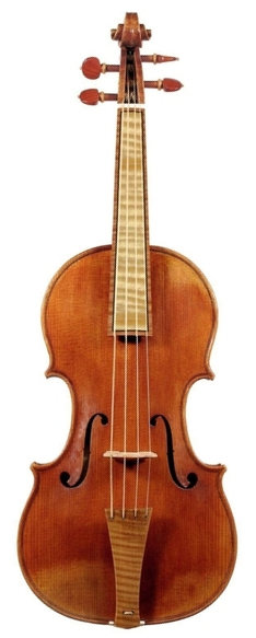 Baroque front maple with dark maple binding