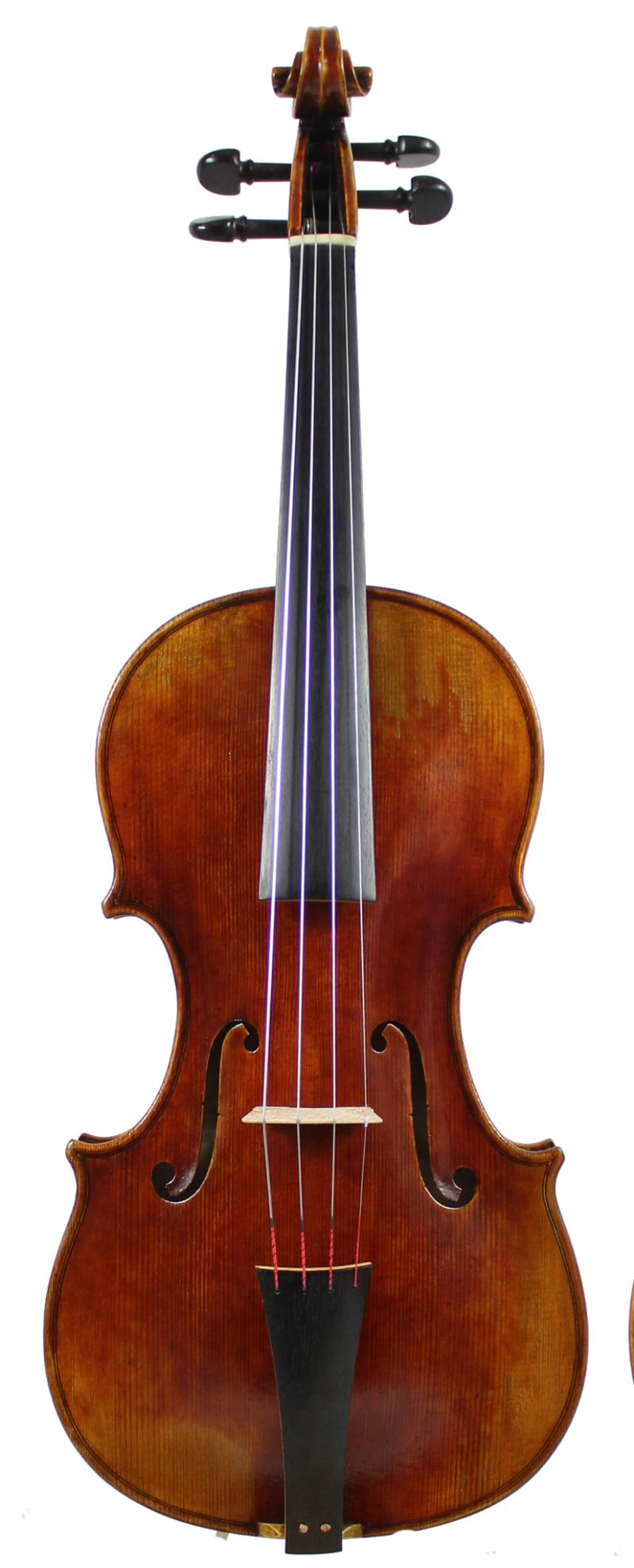 Stainer Baroque front full plain ebony