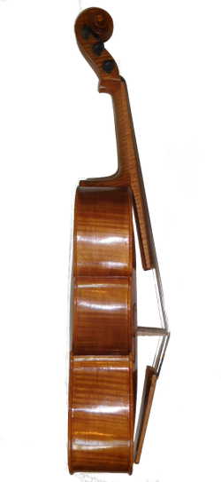 Rickert Violoncello da Spalla bass side