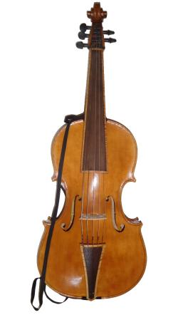 Rickert Violoncello da Spalla front w strap