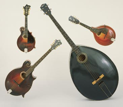 Gibson mandolin orchestra quartet scaled