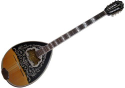 Bouzouki tetrachordo scaled