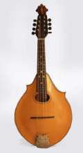 Lyon and Healy 2 point mandolin scaled