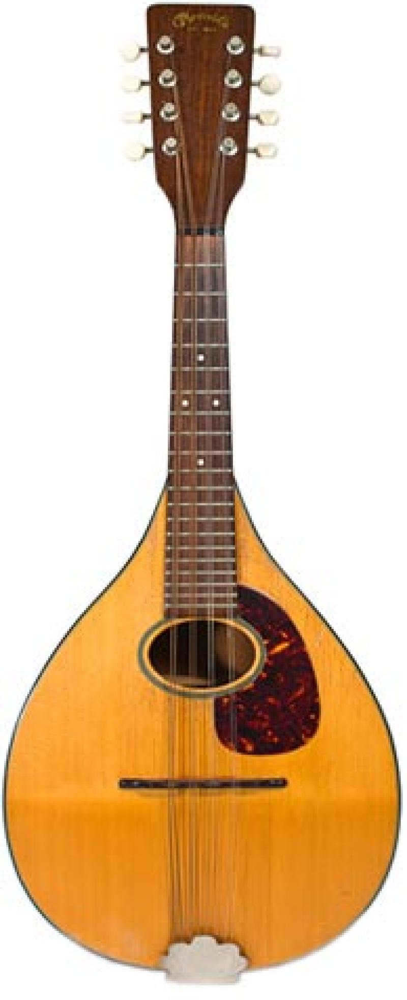 Martin mandolin scaled