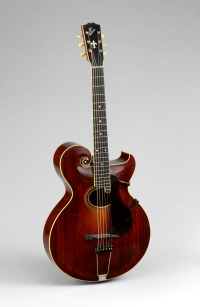 Gibson archtop guitar at Met scaled